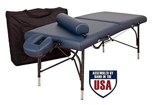 Oakworks wellspring portable massage table review for your massage needs - Portable massage table reviews ...