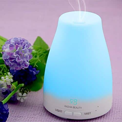 Aroma Oil Diffuser ~ Radha beauty essential oil aromatherapy diffuser review