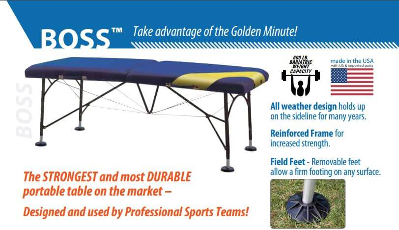Oakworks Boss Portable Treatment Table Instructions
