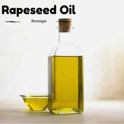 Rapeseed Oil Massage