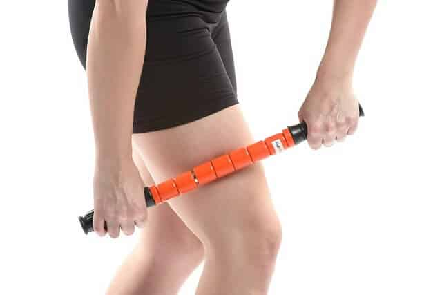 ZegFit Premium Muscle Roller Stick on Leg