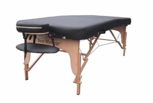 "34"" Extra Wide and Long Professional Portable Massage Table"