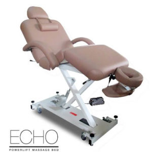 Echo Elite Professional Oversized Powerlift Electric Massage Table