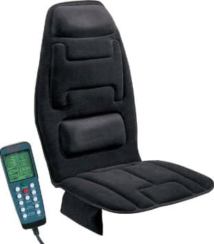 Relaxzen 60-2910 10-Motor Massage Pad Cushion
