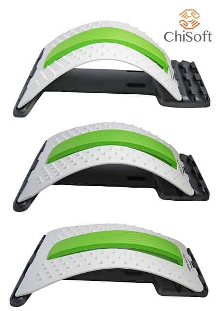 ChiSoft Back Stretcher with Lumbar Support Settings