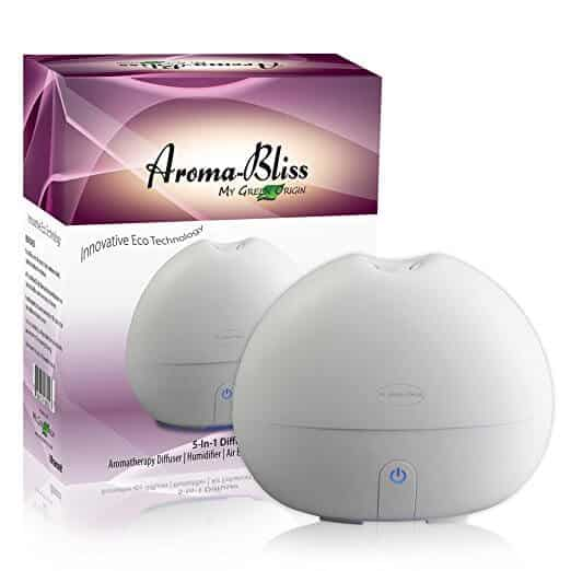 Aroma Bliss Essential Oil Diffuser Review
