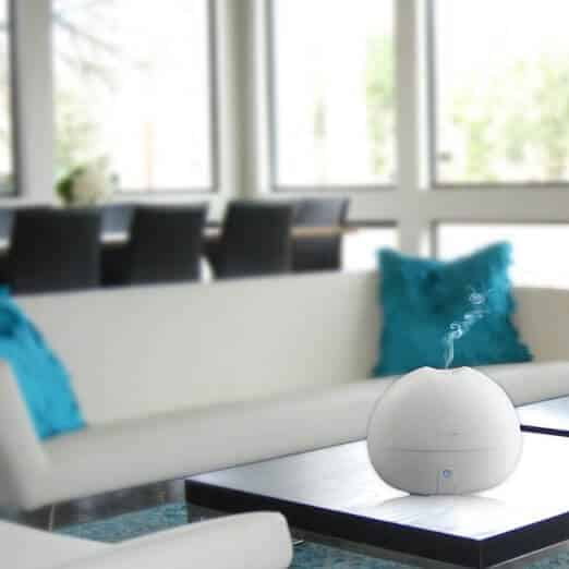 Aroma Bliss Essential Oil Diffuser Size and Design