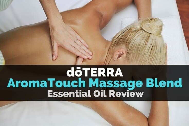 doTERRA AromaTouch Massage Blend Essential Oil Image