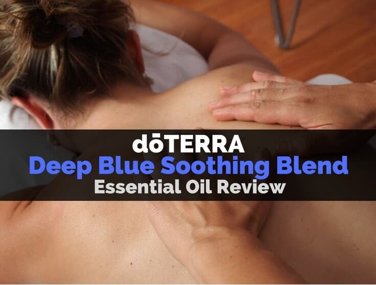 doTERRA Deep Blue Soothing Blend Essential Oil Image