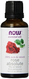 NOW Foods Rose Essential Absolute Oil