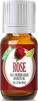 Rose Absolute Oil - Premium Grade, 10ml by Healing Solutions Essential Oils