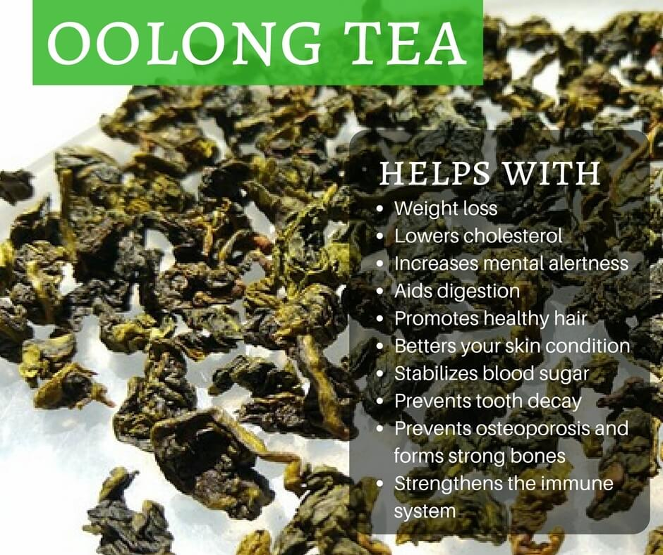 The Health Benefits to Drinking Oolong Tea