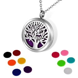 Aromatherapy Essential Oil Necklace Pendant