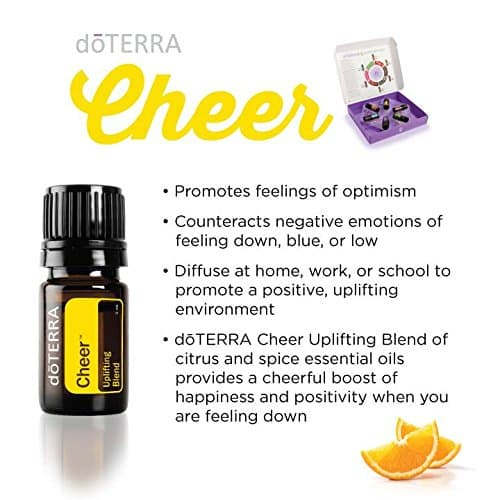 doTERRA Cheer Essential Oil Uplifting Blend Uses