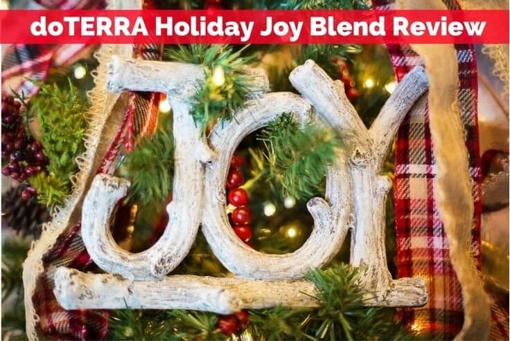 doTERRA Holiday Joy Blend Review