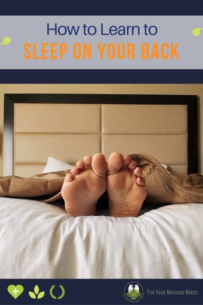 How to Learn to Sleep on Your Back