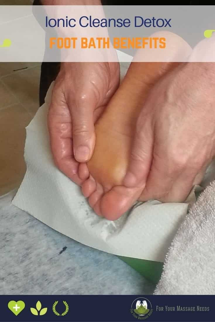 Ionic Detox Foot Spa Benefits