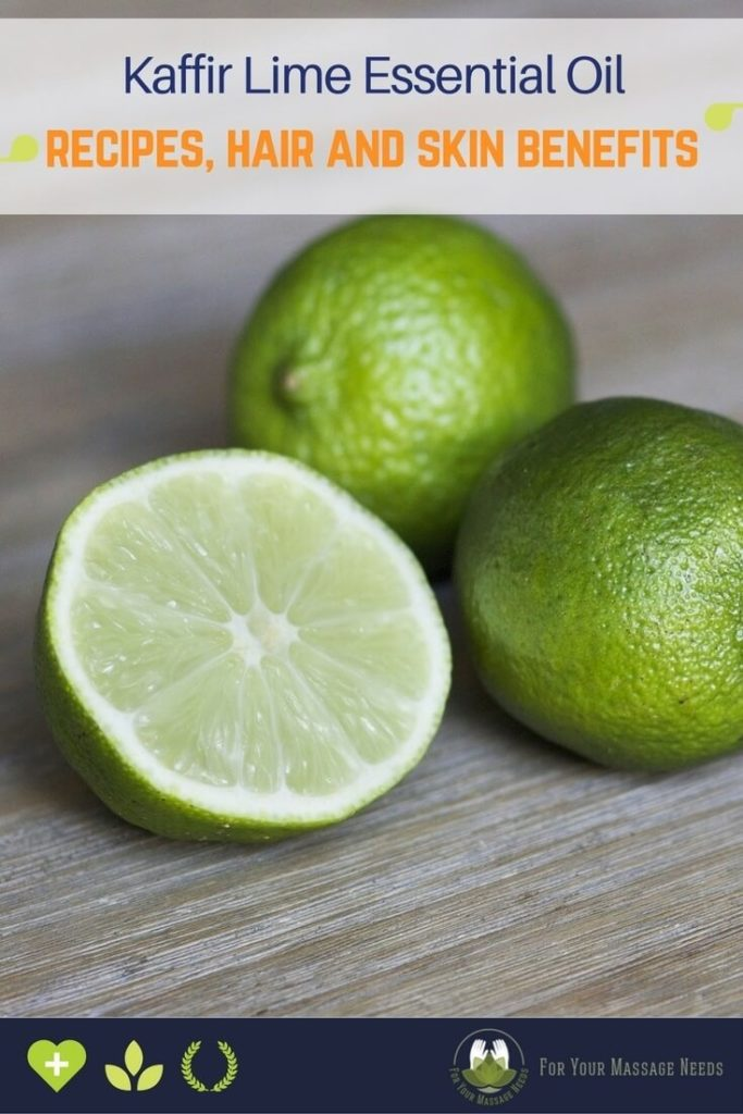 Kaffir Lime Essential Oil Benefits and Uses