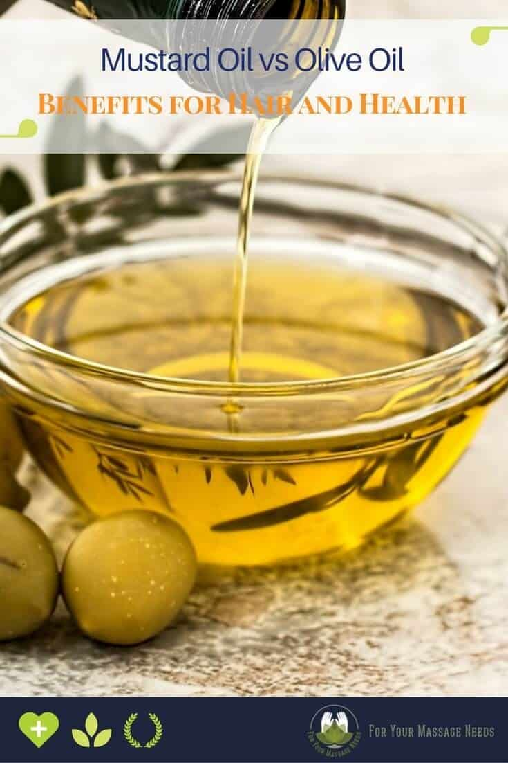 Mustard Oil vs Olive Oil for Hair