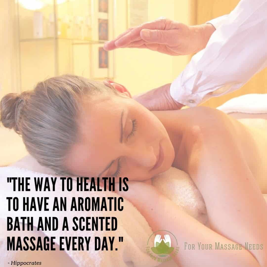 Massage Therapy Quotes Its the Way to Better Health