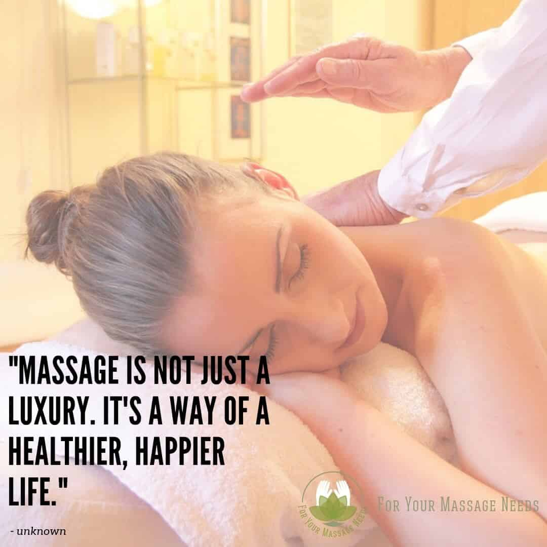 Massage Therapy Quotes Massage Is a Way to a Happier Healthier Life
