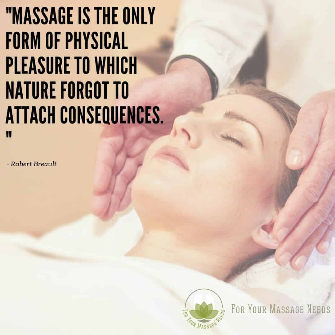 Massage Therapy Quotes Nature Forgot to Attach Consquences