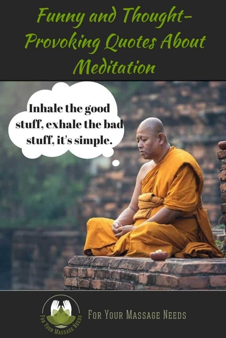Meditation Funny Quotes and Sayings